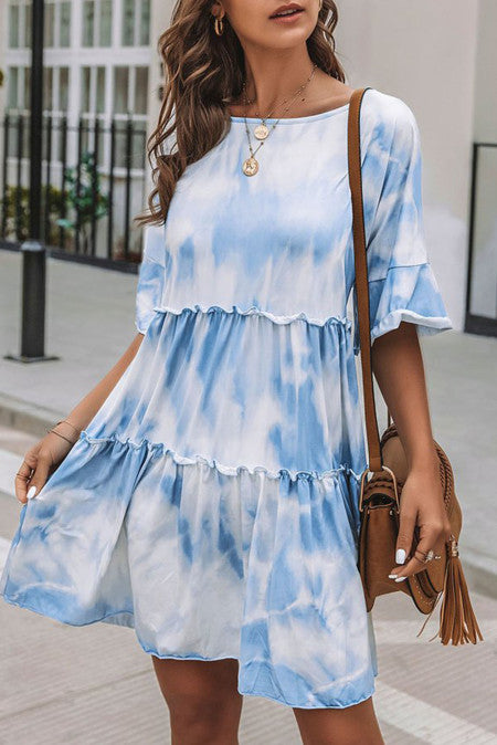 Mystic Dreams Tie Dye Dress