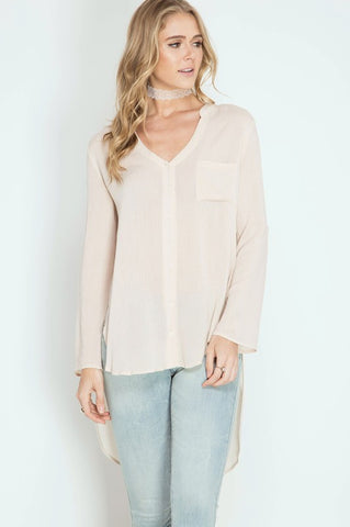 Keep It Simple Button Down Tunic