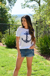 Vintage Anchor Tee