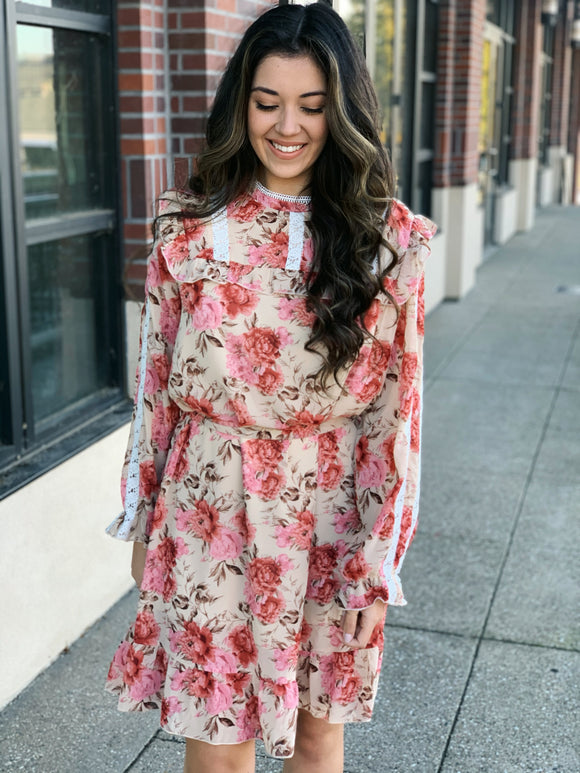 Weekend Brunch Ruffle Dress