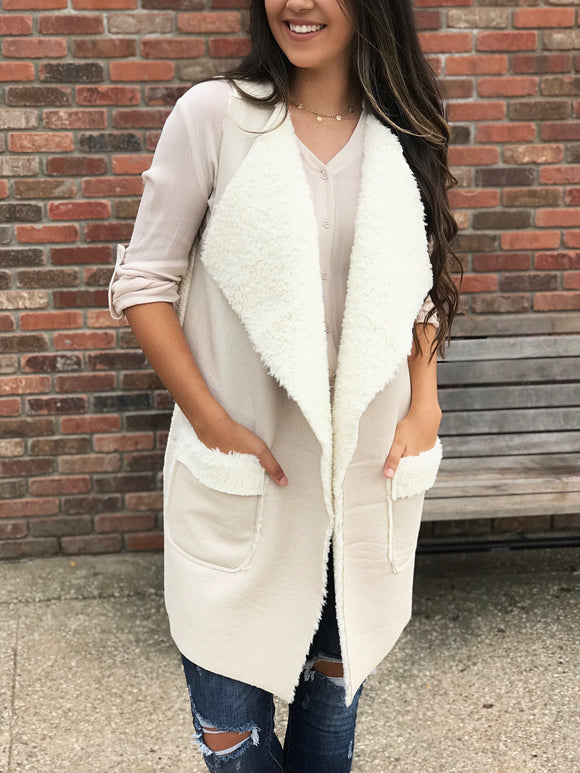 Winter Breeze Vest