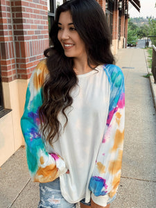 Dreamy Escape Tie Dye Top