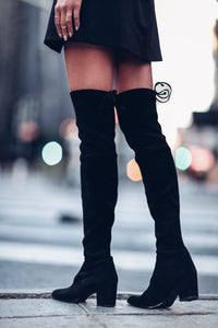 Lose Control Over The Knee Boots