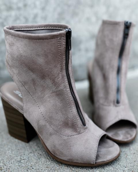 Frankie Zip Booties