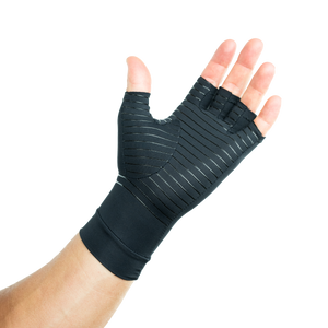 Arthritis & Carpal Tunnel Compression Gloves Infused With Copper for Men and Women (Unisex)