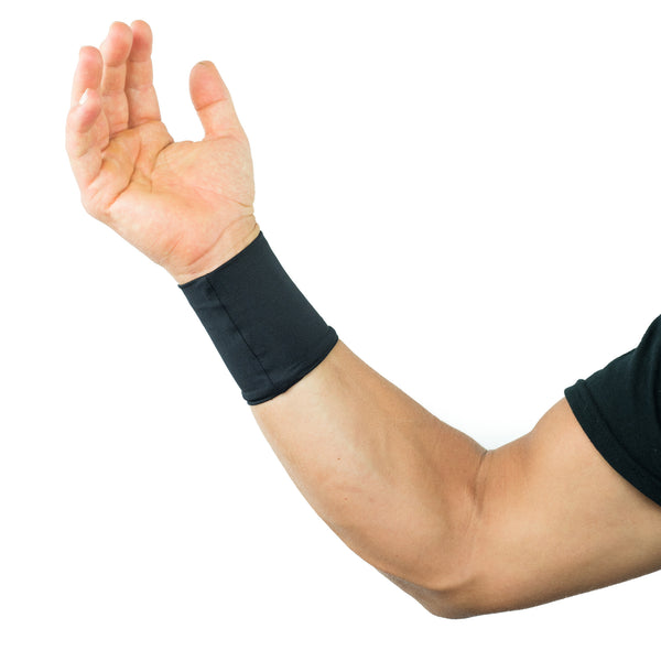 Compression Wrist Sleeves / Supports / Braces Infused With Copper (Pair) for Men and Women (Unisex)