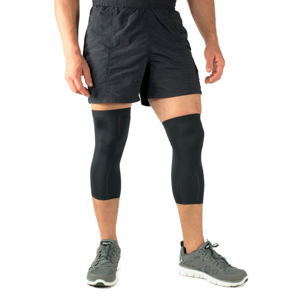 Compression Calf Sleeve Infused With Copper (Pair) for Men and Women (Unisex)