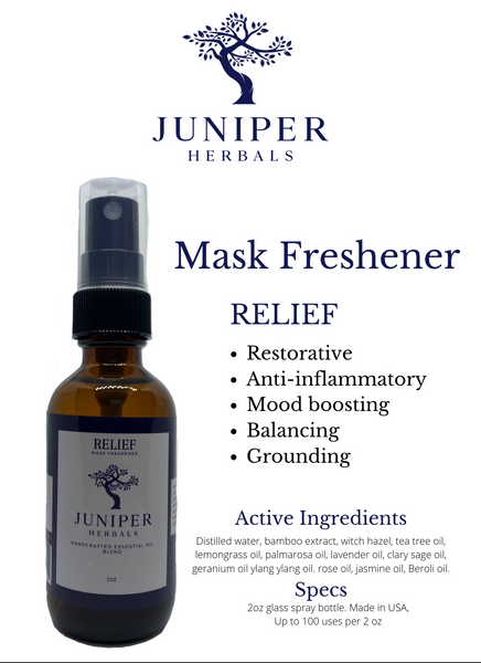 Mask Freshener: Relief 2oz