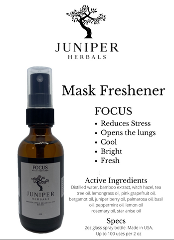 Mask Freshener: Focus 2oz