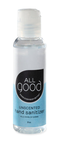 2oz All Good Gel Hand Sanitizer