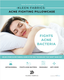 Kleen ACNE Fighting Pillowcase 4 Pack (white)