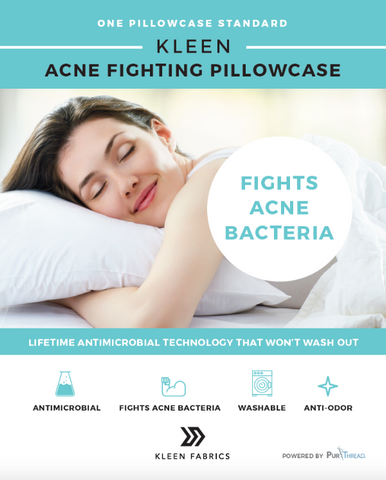 Kleen ACNE Fighting Pillowcase