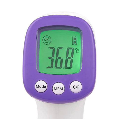 Non Contact Forehead Digital Thermometer, LCD Display, Body Thermometer, Instant Accurate Reading