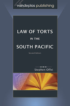 LAW OF TORTS IN THE SOUTH PACIFIC, second edition