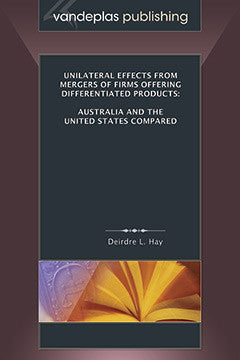 UNILATERAL EFFECTS FROM MERGERS OF FIRMS OFFERING DIFFERENTIATED PRODUCTS: AUSTRALIA AND THE UNITED STATES COMPARED