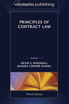 PRINCIPLES OF CONTRACT LAW, THIRD EDITION
