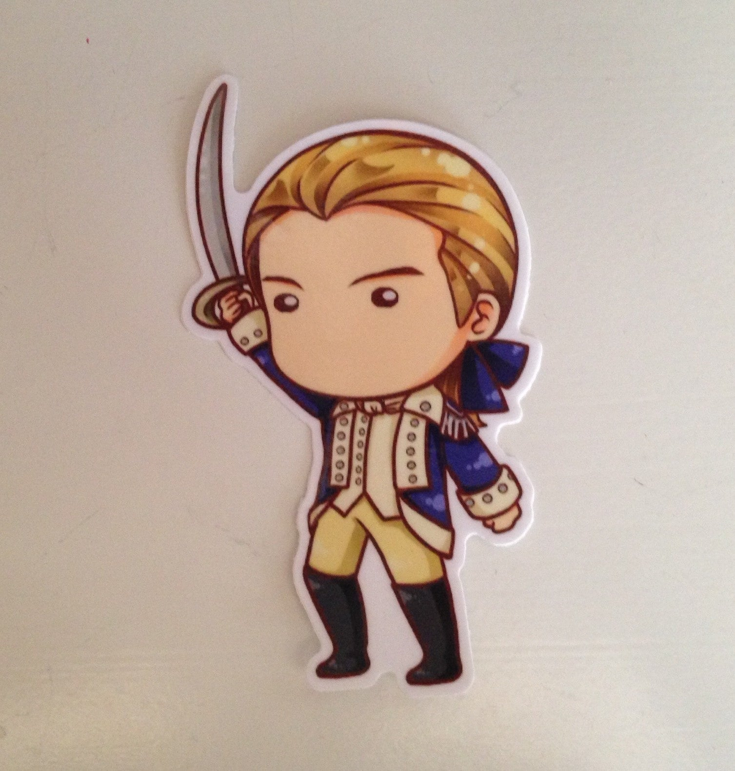 "Benjamin Tallmadge Sticker 4"" - Consulting Fangeeks"