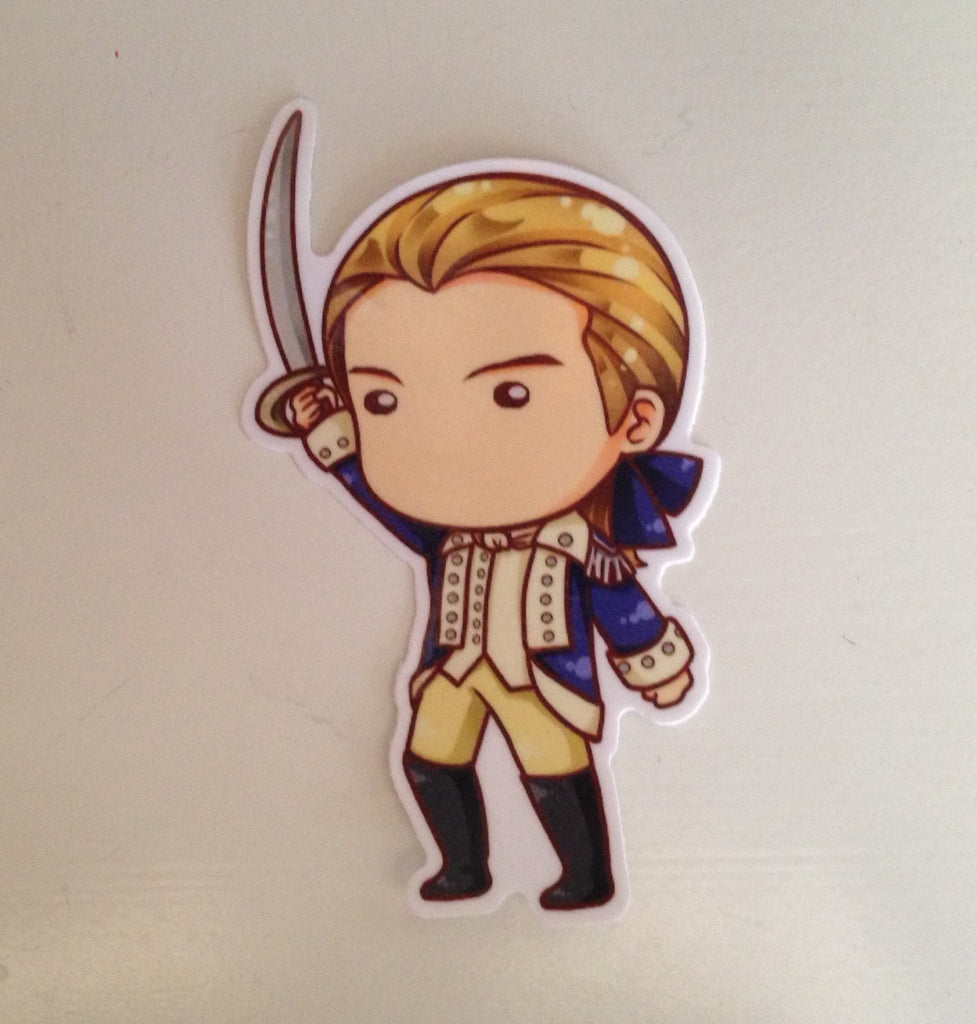 Benjamin Tallmadge Sticker 4""