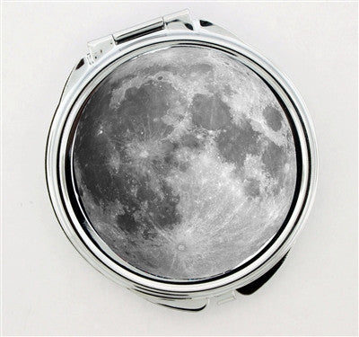 """Full Moon"" Foldable Hand Mirror - Consulting Fangeeks - 1"