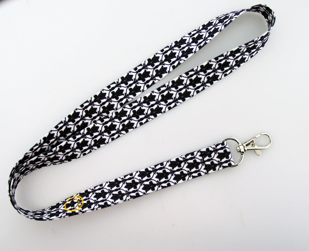 """Bored! Smiley"" Lanyard"