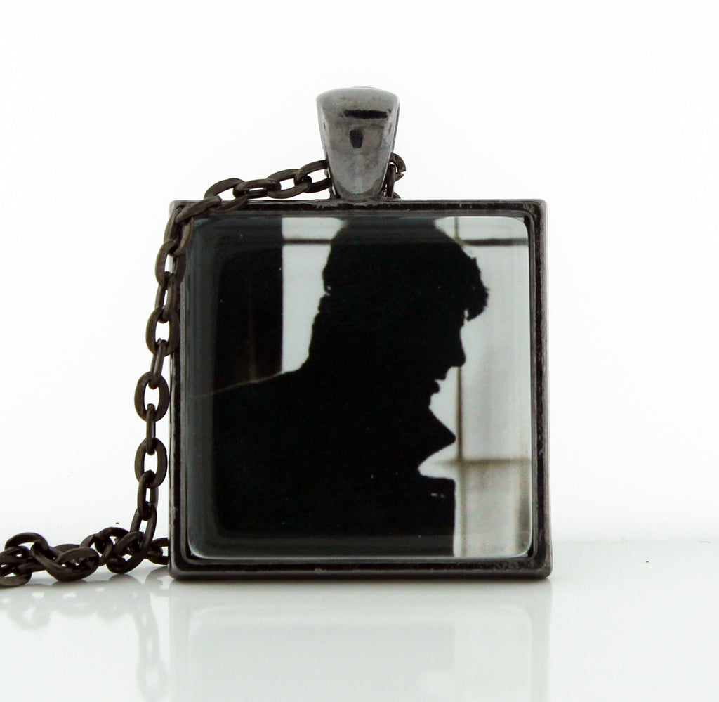 Sherlock Silhouette Necklace