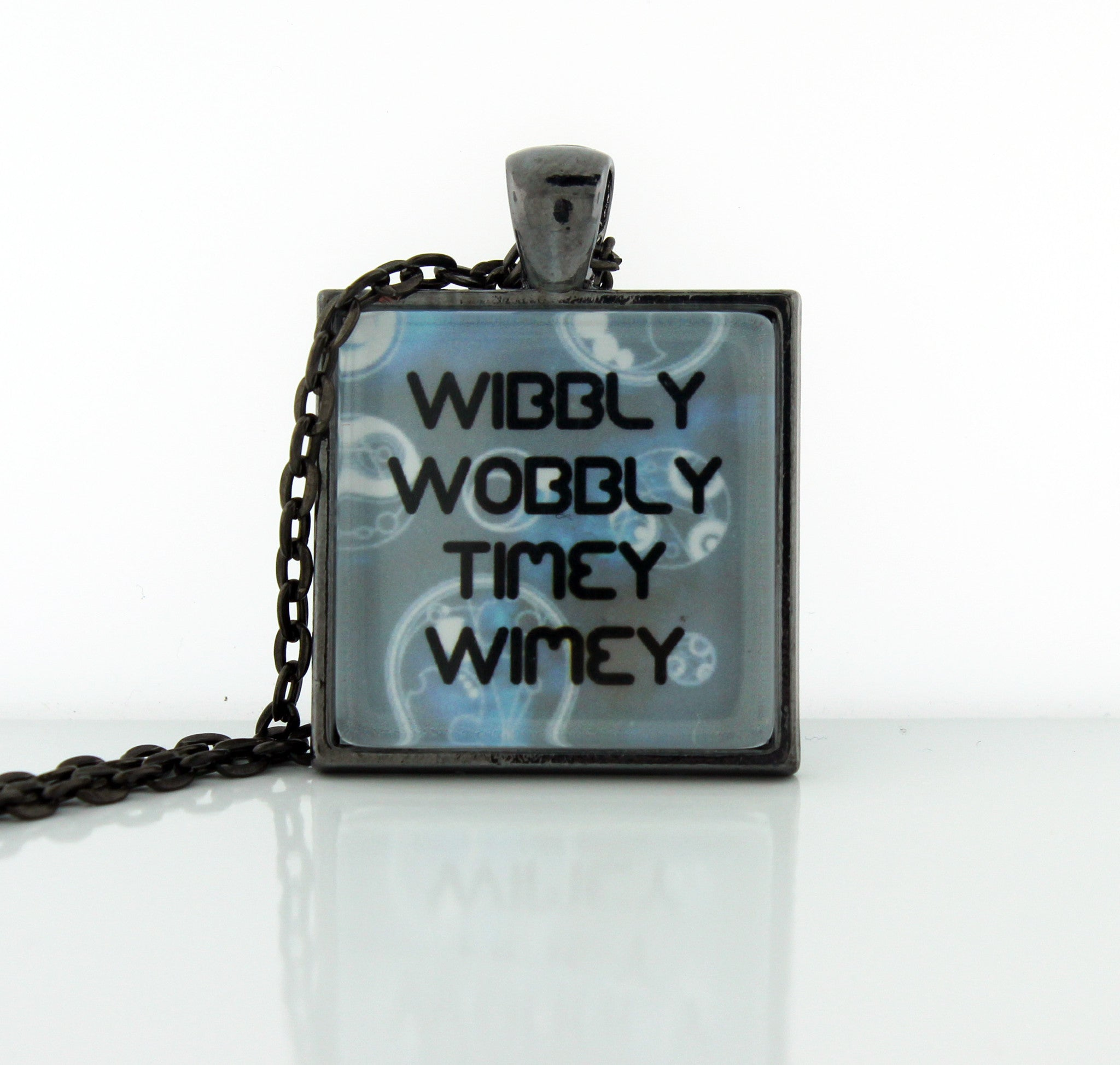 Wibbly Wobbly Necklace - Consulting Fangeeks