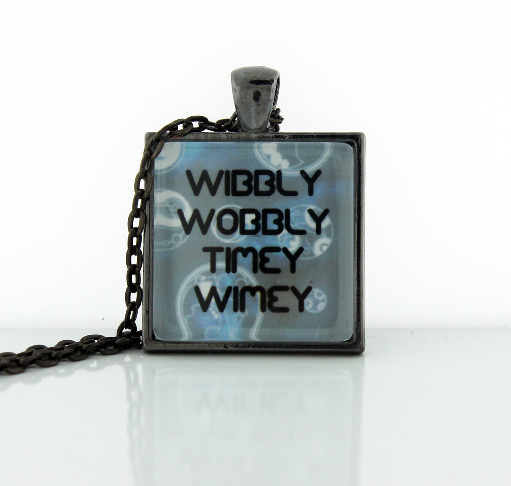 Wibbly Wobbly Necklace