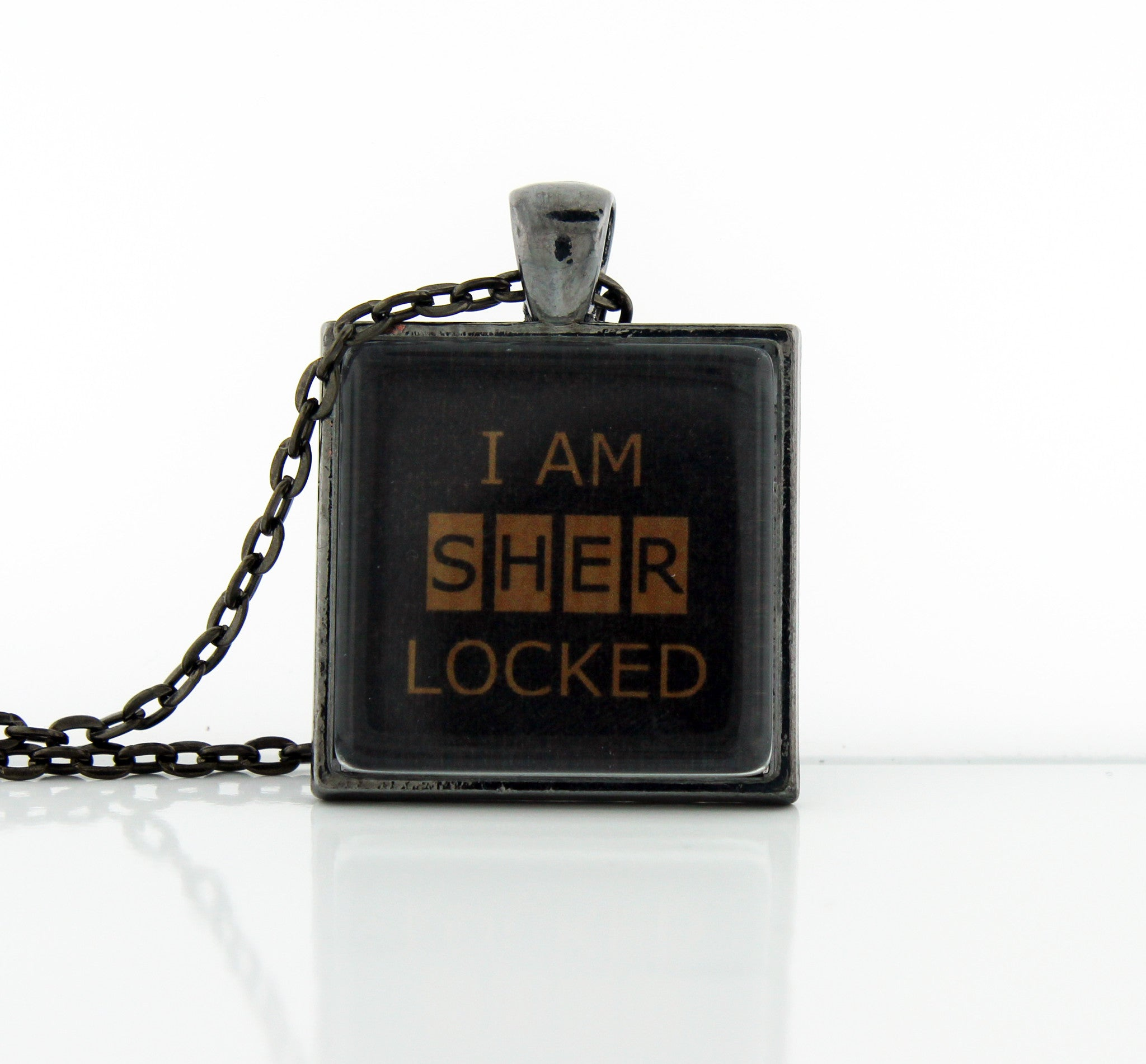 I Am SHERlocked Necklace - Consulting Fangeeks