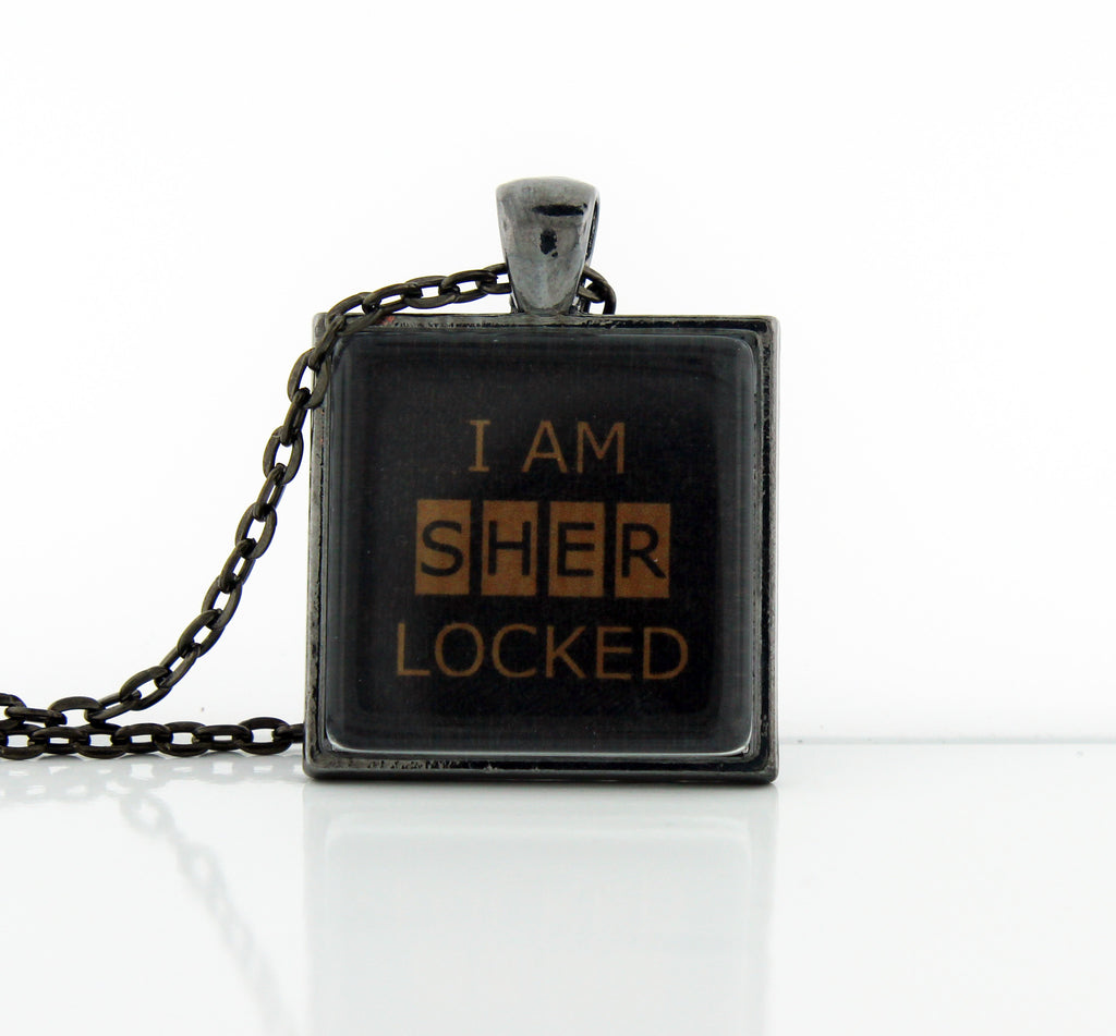 I Am SHERlocked Necklace
