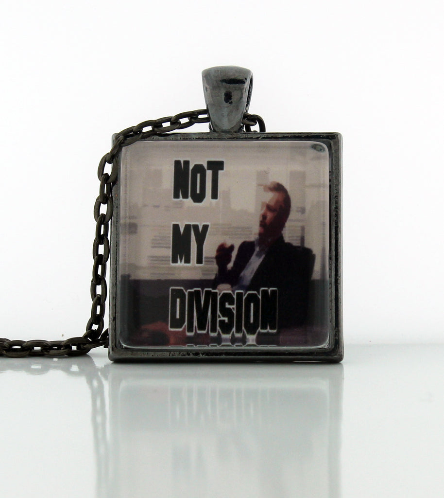 Not My Division Necklace