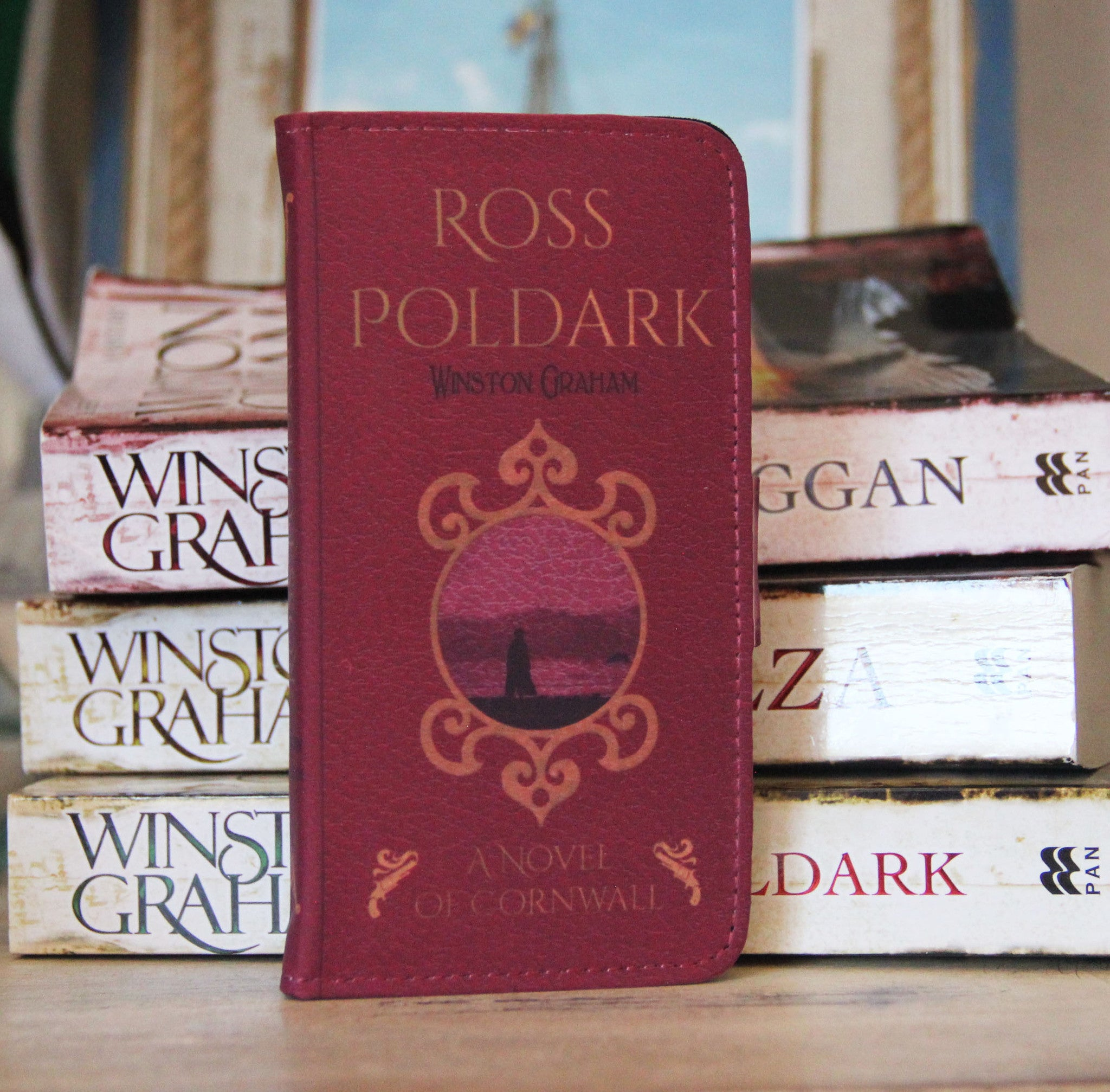 Ross Poldark 2in1 Phone Wallet - Consulting Fangeeks - 1