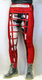 Telephone Box Stretchy Geek Leggings - Consulting Fangeeks - 1
