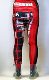 Telephone Box Stretchy Geek Leggings - Consulting Fangeeks - 4