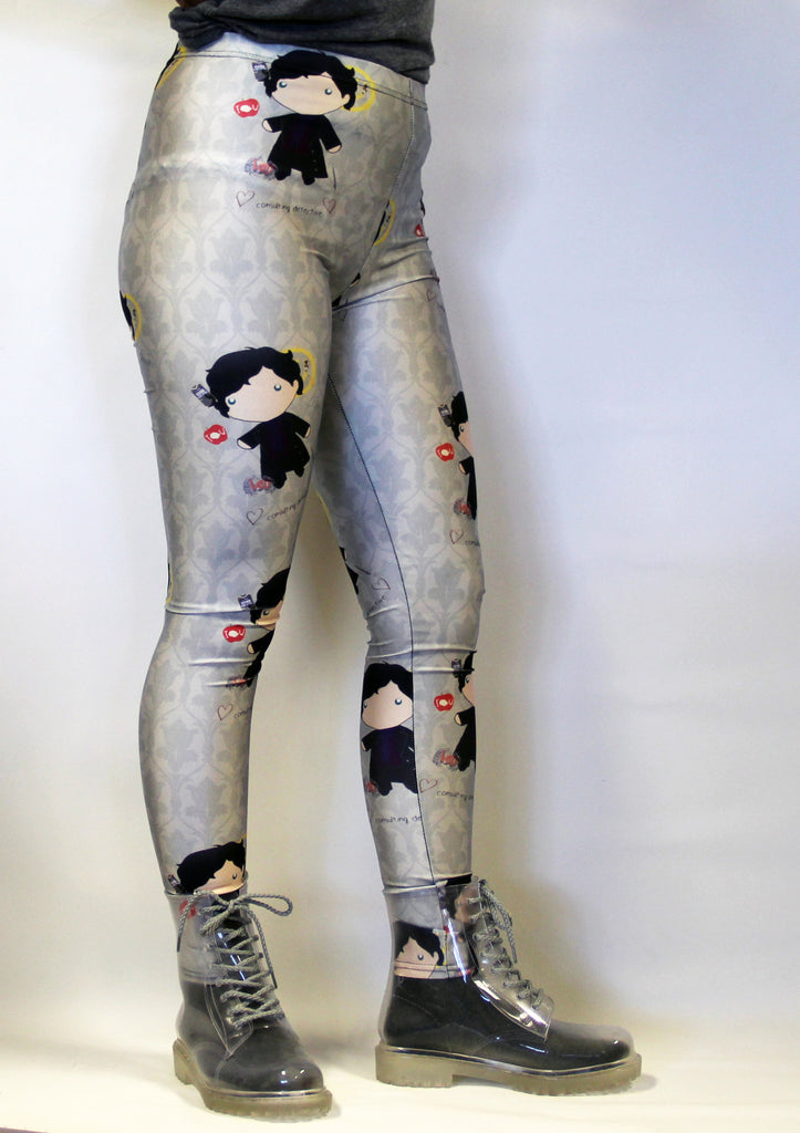 Baby Sherlock Wallpaper Leggings