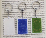 Jane Austen Book Acrylic Figure Keychain - Consulting Fangeeks - 2