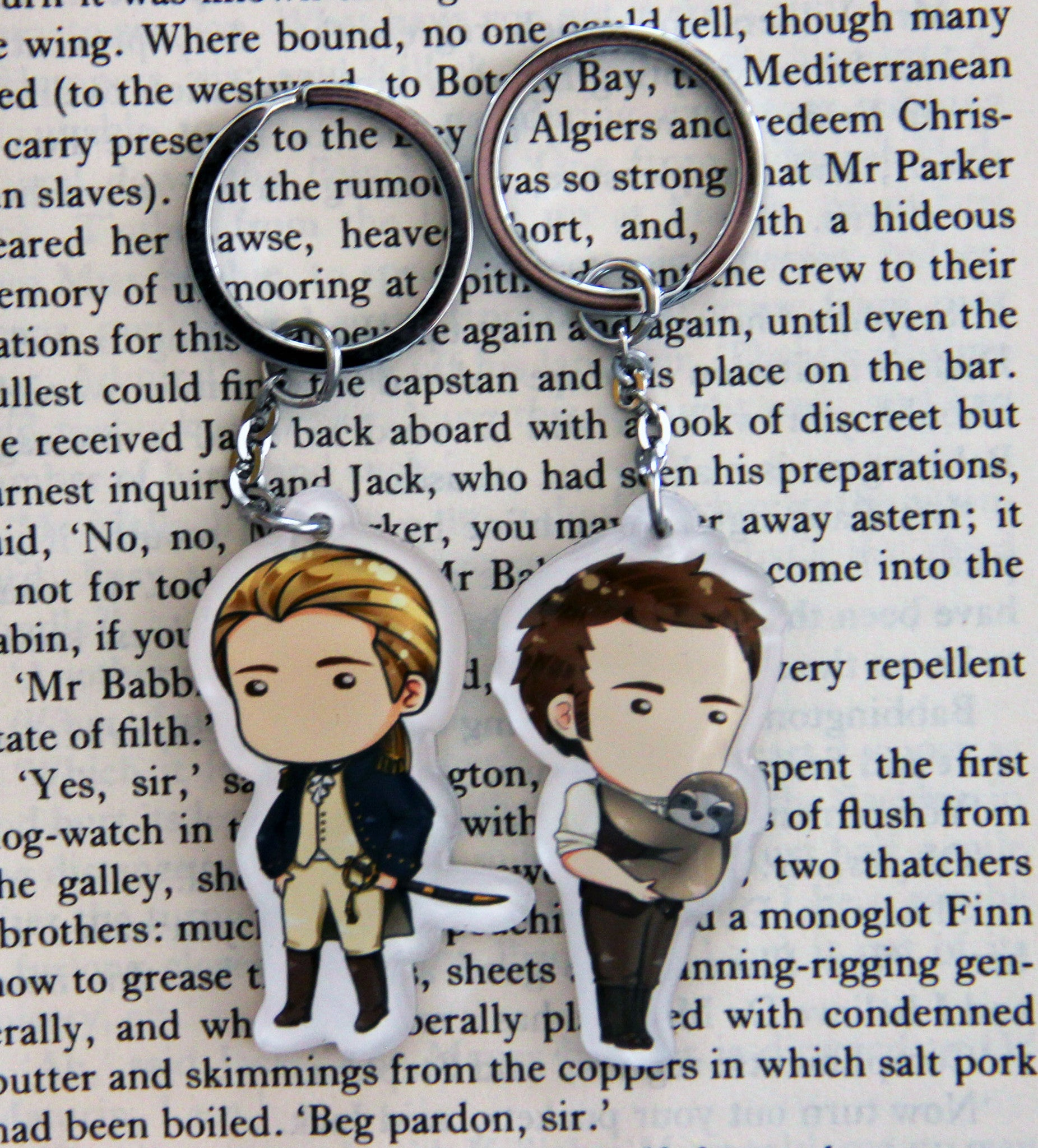 Jack and Stephen Acrylic Figure Keychain Set - Consulting Fangeeks - 1