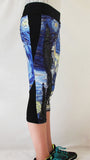 Starry Night Stretchy Workout Pants - Consulting Fangeeks - 2