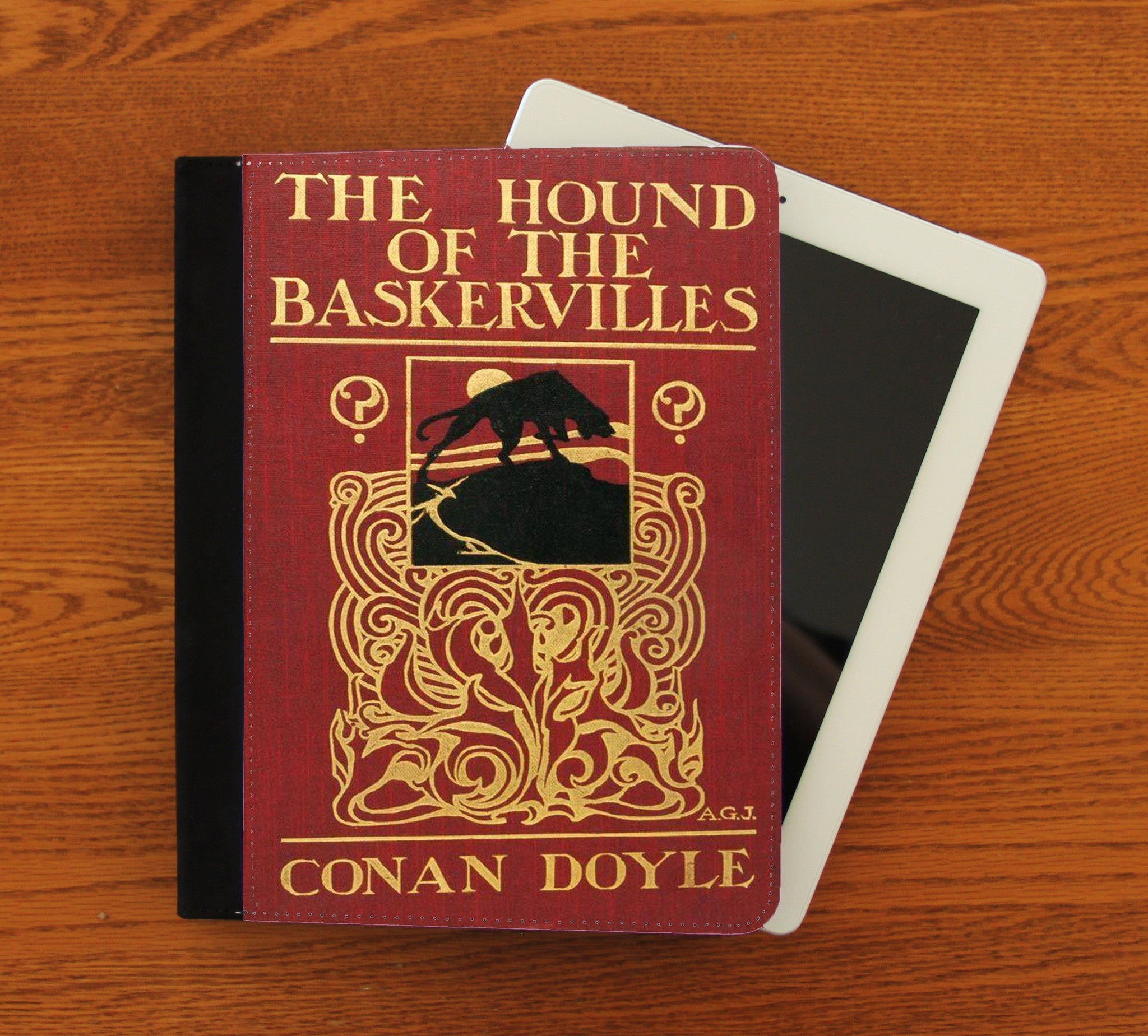 The Hound of the Baskervilles iPad 2,3,4, iPad Mini, Canvas and Suede Protection Case - Consulting Fangeeks - 1