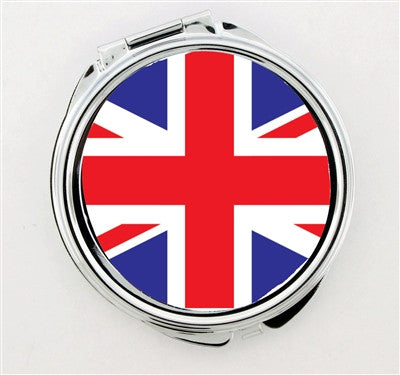 """Union Jack"" Foldable Hand Mirror - Consulting Fangeeks - 1"