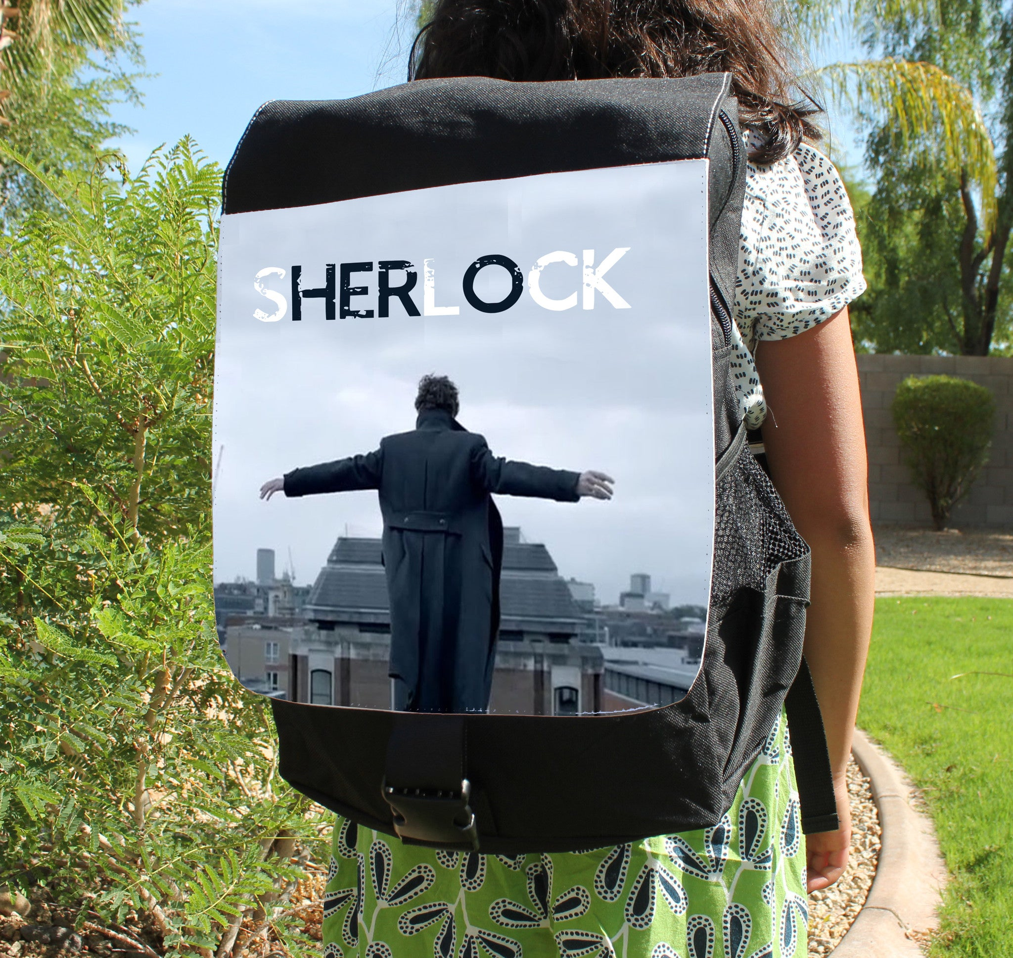 Reichenbach Feels Canvas Backpack - Consulting Fangeeks - 1