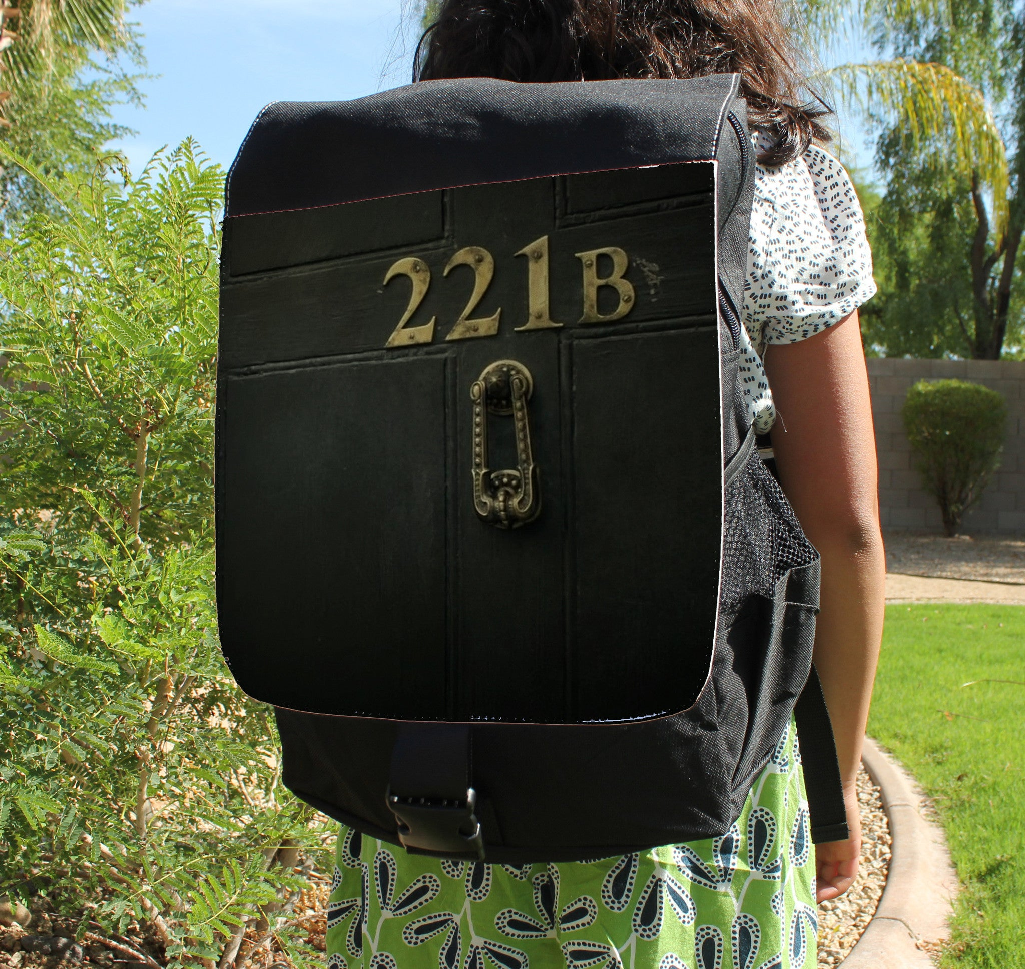 221B Door Canvas Backpack - Consulting Fangeeks - 1