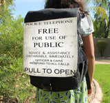 Pull To Open Canvas Backpack - Consulting Fangeeks - 1