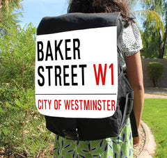 Baker Street Canvas Backpack - Consulting Fangeeks - 1