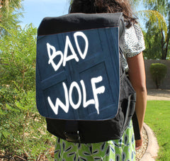 Bad Wolf Canvas Backpack - Consulting Fangeeks - 1