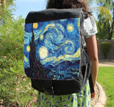 Starry Night Canvas Backpack - Consulting Fangeeks - 1