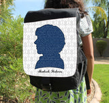 Sherlock Quotes Canvas Backpack - Consulting Fangeeks - 1