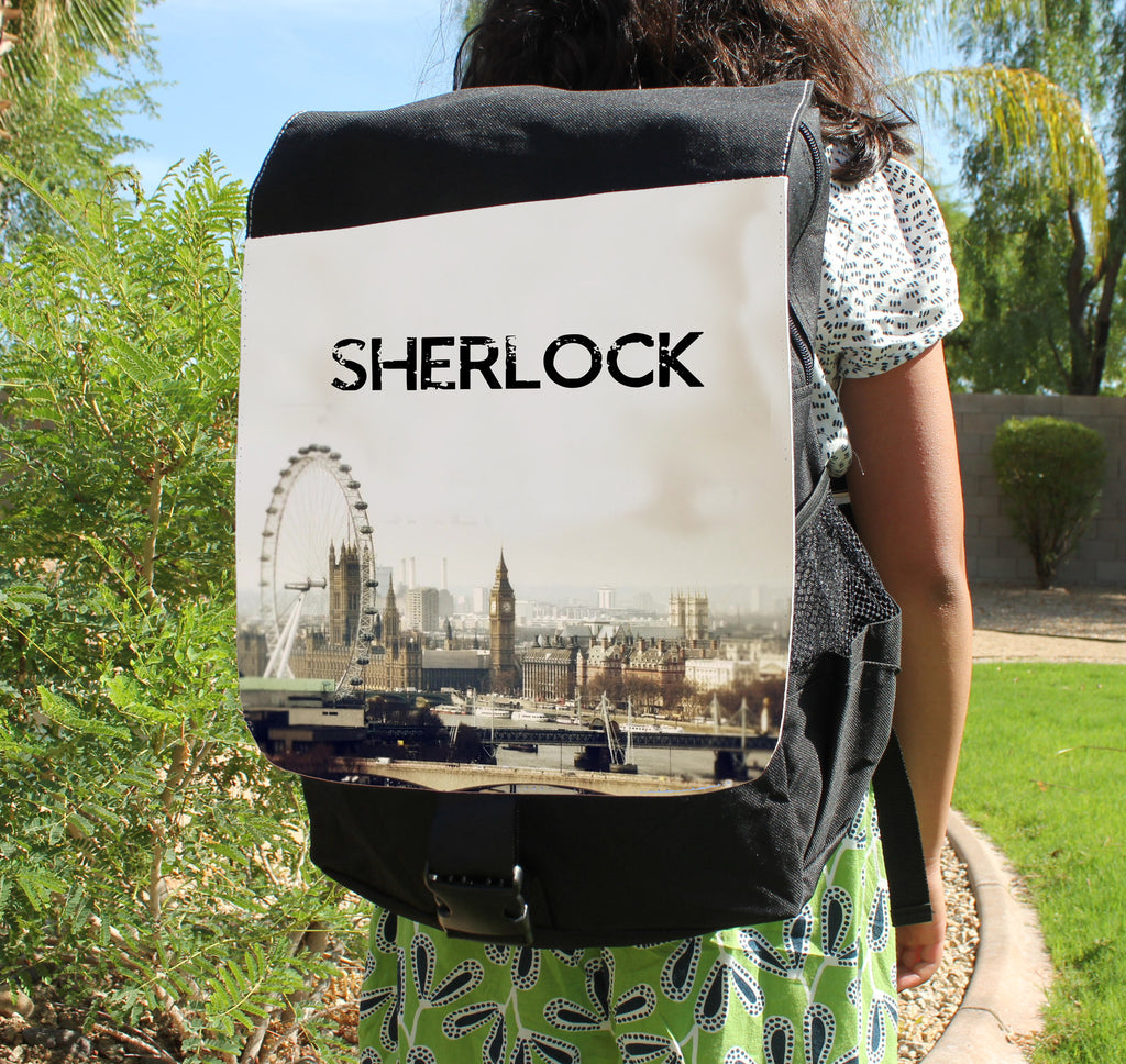 Opening Theme Canvas Backpack