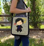 Baby Sherlock Messenger Bag - Consulting Fangeeks - 3