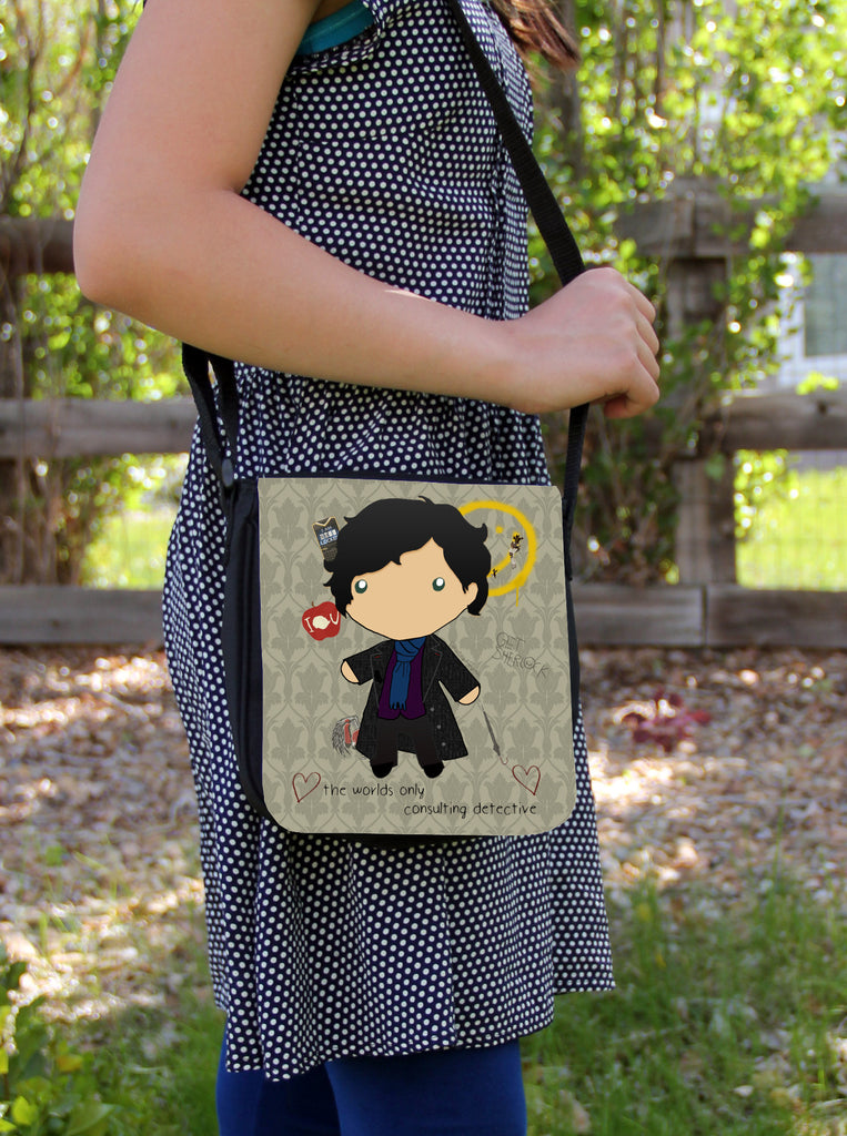 Baby Sherlock Messenger Bag