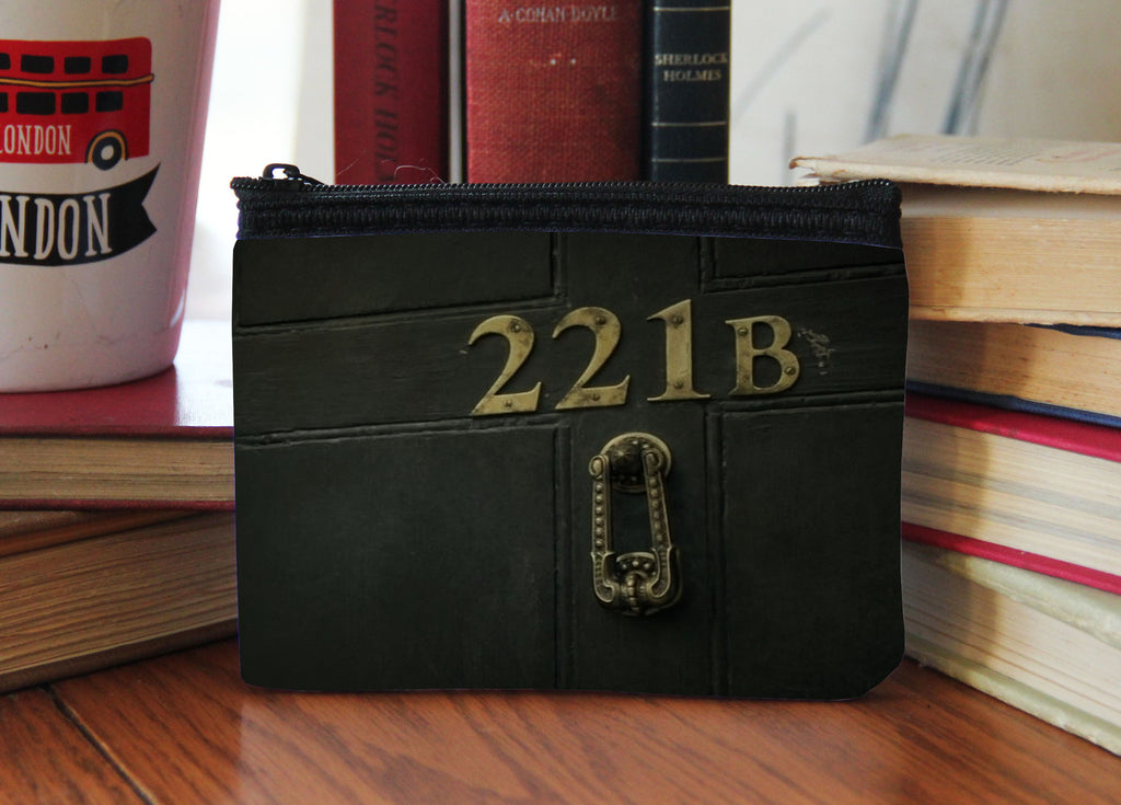 """221B Door"" Neoprene Coin Purse"